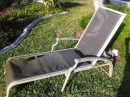 Replacing Fabric On Patio Chairs Patio Furniture Repair Vinyl Strap Replacement And Sling Replacement