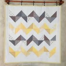yellow and gray chevron quilt set easy chevron quilt tutorial use