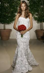 oscar de la renta lace wedding dress oscar de la renta 82e11 1 800 size 8 used wedding dresses