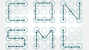 pattern lock design images use complex patterns avoid letters for more secure android lock