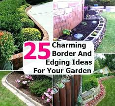 Small Garden Border Ideas Garden Borders Ideas Financeintl Club
