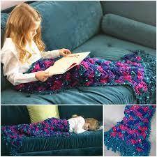 diy blanket creative ideas diy pretty crochet mermaid blanket
