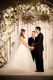 wedding arches orlando fl gold white wedding with indian flair in orlando fl