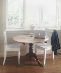 a diy table makeover before beach cottage two kitchen life by