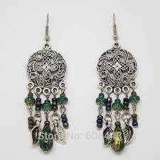 hanging earrings women bohemian earring earring beaded earrings hubket