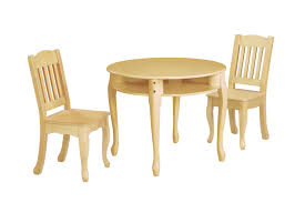 Childrens Wooden Kitchen Furniture Toddler Dining Table
