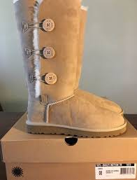 womens suede boots australia ugg australia bailey button triplet womens suede boots 8
