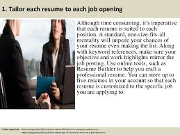 Tailor Resume To Job by Top 12 Flight Attendant Resume Tips