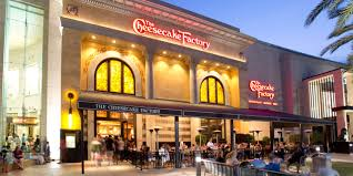 the cheesecake factory the mall at millenia