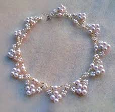 necklace from beads images Free pattern for beaded necklace elbrus beads magic jpg