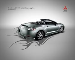 official mitsubishi ad for my car in grey 2007 mitsubishi eclipse
