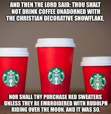 Coffee Cup Meme - even more hilarious starbucks red cup anti christmas memes queerty