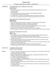 resumes for marketing jobs retention marketing manager resume samples velvet jobs