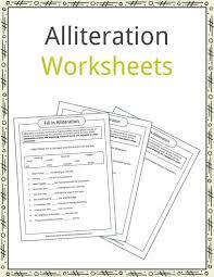 alliteration examples definition u0026 worksheets kidskonnect