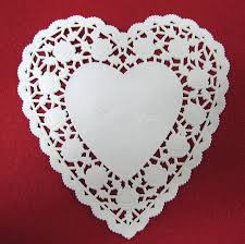 heart shaped doilies wes terner s outfitters 6 inch heart shaped paper lace doilies 1639