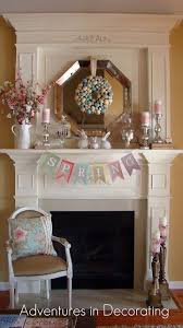 easter mantel decorations traditional style home tour mantels easter and stylish