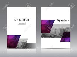 cover layout com magazine cover layout design template vector set annual report