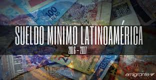 tabla de salarios en costa rica 2016 lista de sueldos en latinoamerica y sudamerica 2016
