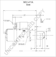 ms1 411a starter motor product details prestolite leece neville