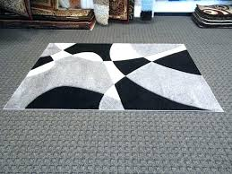 White And Black Area Rug Black Area Rugs 8 10 Thelittlelittle