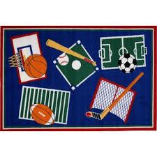 Football Field Rug For Kids Sports Area Rugs You U0027ll Love Wayfair