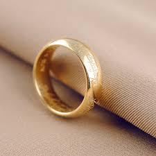 aliexpress buy gents rings new design yellow gold aliexpress buy the lord of rings ring for men women the