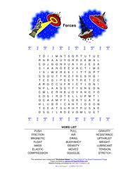wordsearch introducing forces by teachertor teaching resources tes