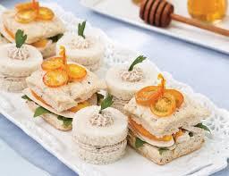 mousse canape ham mousse tea sandwiches teatime magazine