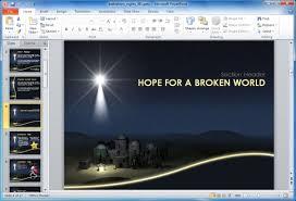 make christian powerpoint presentations for church with bethlehem