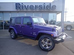 purple jeep riverside dodge chrysler jeep vehicles for sale in prince albert