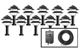 Outdoor Flood Lighting Ideas by Lighting Wondrous Laudable 12v Outdoor Lighting Cable Important