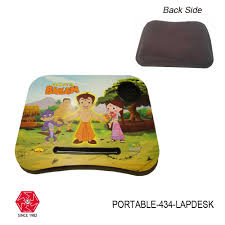 Portable Lap Desk Kids Buy Online Portable Lap Desk For Kids With Soft Padded Bottom Mix