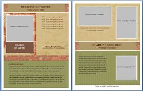 free template for brochure microsoft office brochure template free microsoft word free ms word real estate