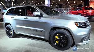 jeep canada 2017 2018 jeep grand cherokee trackhawk exterior interior walkaround