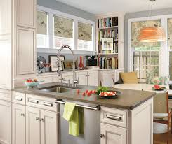 Antique Kitchen Cabinets Laminate Cabinets In Casual Kitchen Aristokraft