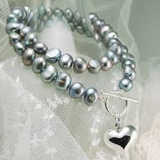 silver necklace with pearls images Necklaces gt freshwater pearl necklaces buy engraved silver jpg