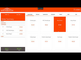 wpf pos restaurant system youtube