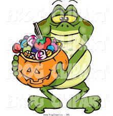 frog halloween clipart 28