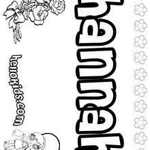 hanna coloring pages hellokids