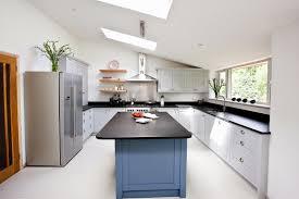 maple u0026 gray blue u0026 grey kitchen