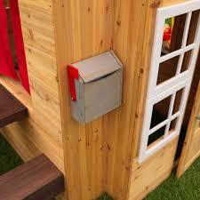 Wooden Backyard Playhouse Modern Outdoor Playhouse