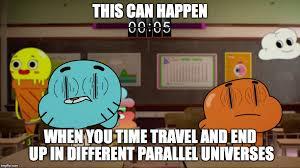 Amazing World Of Gumball Meme - blinking sideways imgflip