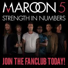 Maroon 5 Official Fan Club Site Signup