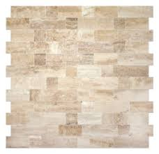 Best  Travertine Backsplash Ideas On Pinterest Beige Kitchen - No grout tile backsplash