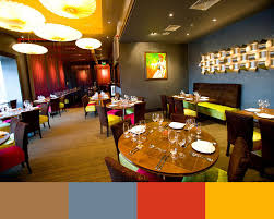 colours restaurant home design
