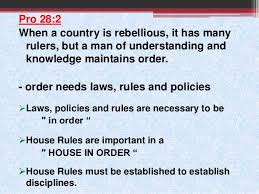 Family House Rules House Rules For A Great Christian Family