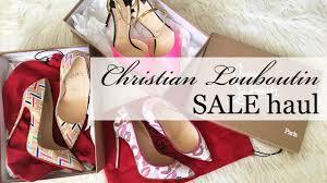 designer shoe sale how to get designer shoes on sale my louboutin sale haul