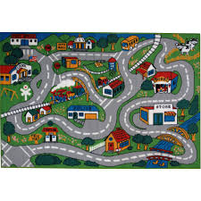 fun rugs children u0027s fun time collection country fun walmart com
