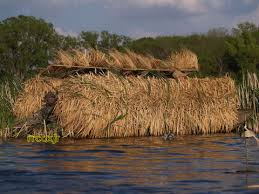 Natural Hunting Blinds Avery Greenhead Gear Ghg Realgrass Real Grass Blind Mat Boat