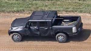 old jeep truck jeep wrangler pickup spy shots from jlwrangler